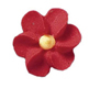 Royal Icing Flowers - Small Red