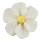 Royal Icing Flowers - Medium White