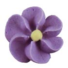 Royal Icing Flowers - Medium Violet