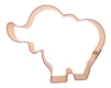 Copper Cookie Cutter - Fun Elephant