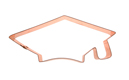 Copper Cookie Cutter-Grad Cap