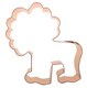 Copper Cookie Cutter - Fun Lion