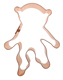 Copper Cookie Cutter - Monkey