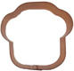 Copper Cookie Cutter-Muffin