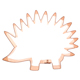 Porcupine/ Hedgehog Copper Cookie Cutter