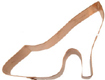 Copper Cookie Cutter-High Heel Shoe