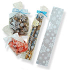 "2"" x 10"" Snowflake Cellophane Bag"