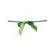 Kiwi Green Twist Tie Bows