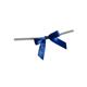 Royal Blue Twist Tie Bows