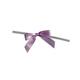 Lavender Twist Tie Bows
