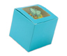 Blue 1 Ct. Cupcake Box with Window
