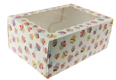 Cupcake Print 6 Ct. Cupcake Box with Window