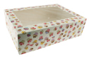 Cupcake Print 12 Ct. Cupcake Box with Window