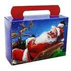 1/2 lb. Here Comes Santa Tote Candy Box