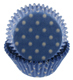 Light Blue w/White Dots Standard Baking Cups