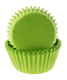 Lime Green Mini Baking Cup