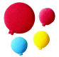 Dec-Ons® Molded Sugar - Balloons Assortment
