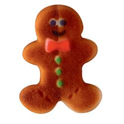Dec-Ons® Molded Sugar - Gingerbread Man