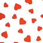 Chocolate Transfer Sheet-Hearts