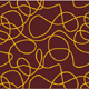 Chocolate Transfer Sheet-Gold String