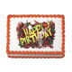 Edible Image® - Birthday Bugs