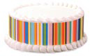 Edible Image® Designer Prints™ - Happy Stripes