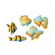Dec-Ons® Molded Sugar - Aquarium Fish