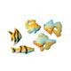 Dec-Ons® Molded Sugar - Aquarium Fish