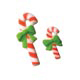 Dec-Ons® Molded Sugar - Candy Canes