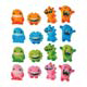 Dec-Ons® Molded Sugar - Monster Assortment