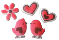 Dec-Ons® Molded Sugar - Love Birds Assortment