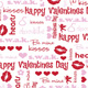 Chocolate Transfer Sheet -Valentine Kisses