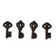 Dec-Ons® Molded Sugar - Keys