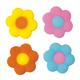 Dec-Ons® Molded Sugar - Happi Flower Assortment