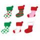 Dec-Ons® Molded Sugar - Elf Stockings Assortment