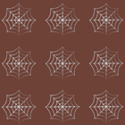 Chocolate Transfer Sheet - Spider Web