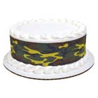 Edible Image® Designer Prints™- Green Camo