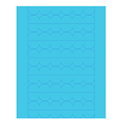 Sweet Shapes® Fondant Soft Blue Scallop Strips
