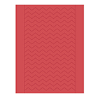 Sweet Shapes® Fondant Red Chevron Strips