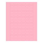 Sweet Shapes® Fondant Soft Pink Scallop Strips