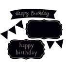 Sweet Shapes® Fondant Birthday Chalkboard