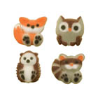 Dec-Ons® Molded Sugar - Forest Friends Assortment