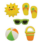Dec-Ons® Molded Sugar - Summer Fun Assortment