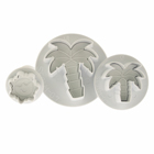 Palm Trees and Sun Plunger Cutter Set