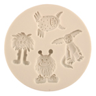 Little Monsters Silicone Mold
