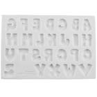 Patchwork Font Silicone Mold
