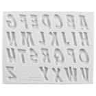 Comic Book Letters Silicone Mold