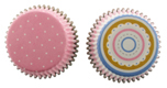 Pink Stripe & Dot Standard Baking Cups