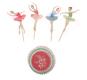 Ballet Dancers Cupcake Kit