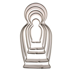 Russian Dolls Cookie Cutter Set